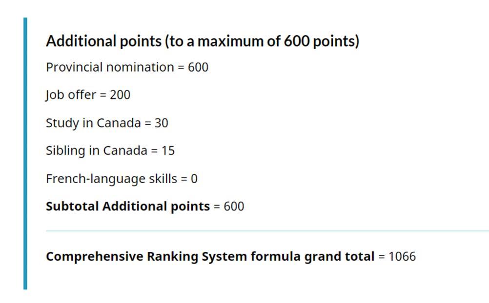 امتیاز WES کانادا
